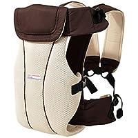 Minetom Respirable Multifonction Porte-bébé Confort Super Respirant Réglable  Antérieur Confortable Sangle de Portage Ventral 4bef948e9e2