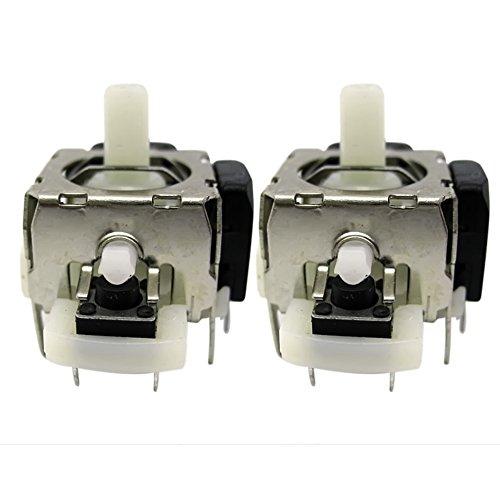 Vococal - 2 piezas Eje de Palanca de Mando / Módulo Reemplazo de Sensor análogo de controlador 3D Joystick Axis para Xbox 360