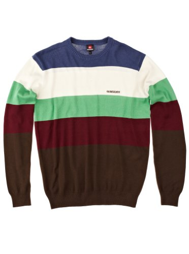 Quiksilver Pull Dickson pour homme Sienne