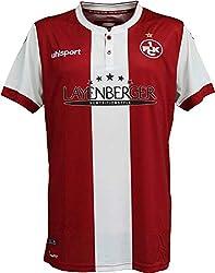 uhlsport FCK Home Shirt Heim Trikot Kaiserslautern rot XXXL