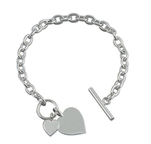 double-heart-charm-sterling-silver-bracelet-chunky-silver-bracelet-with-heart-tag-75-inch-195cm-tiff