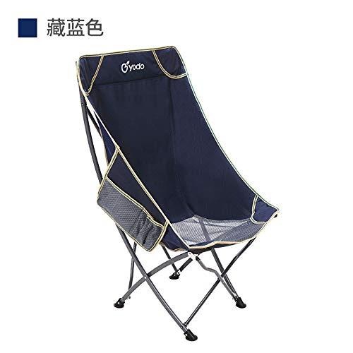 Zurück Stühle, Hocker (Outdoor tragbare Klappstuhl zurück Angeln Stuhl Hocker Freizeit Strand Stuhl Mittagspause Stuhl Mond Stuhl (Marine))