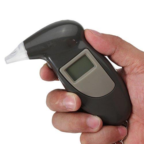Digitaler Alkoholtester Breath Alcohol Analyzer Tester Schlüsselanhänger