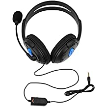 Lightleopard Wired Gaming Headset Cuffie con Microfono per Sony PS4 Playstation 4