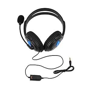 Lightleopard Kabelgebundenes Gaming Headset Kopfhörer mit Mikrofon für Sony PS4 Playstation 4