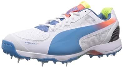 Puma Men's Evospeed Cricket Spike 1.2 White Sport Cricket Shoes - 6 UK/India (39 EU)