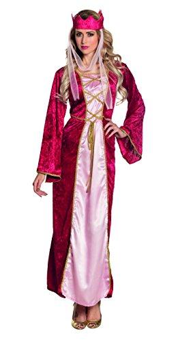 Boland 83578 - Erwachsenenkostüm Renaissance Queen, rosa
