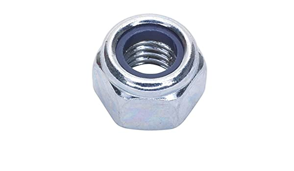 Sealey Nln8/Nylon /Écrou /à cabestan M8/Zinc DIN 982/Lot de 100