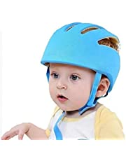 MIMISKU Baby Safety Helmet with Corner Guard & Proper Ventilation (Blue)
