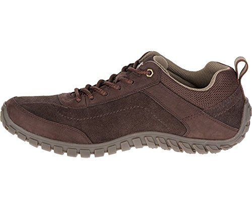 Caterpillar Mens P721362 Arise Suede Shoes Coffee Bean
