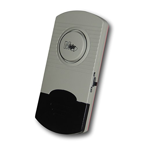 EPOSGEAR Minder Ultra Thin Window Glass Vibration Security Burglar Alarm for Homes, Cars, Sheds, Caravans, Motorhomes…