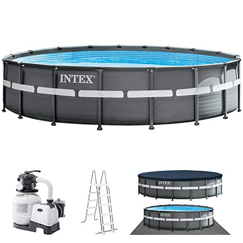 Intex Swimming Pool Ø 549 x 132 cm Frame Pool Set Ultra Rondo XTR 26330