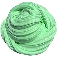 Preisvergleich für Fuibo Kinder Spielzeug Schlamm Spielzeug Flauschige Floh Slime Duft Stress Relief Kein Borax (Grün)