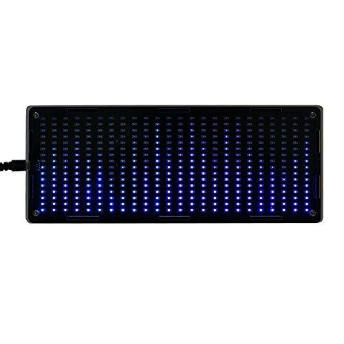 Zerone DIY Kits 384 Stücke LED Lichter Digital Audio Musik Spektrumanalysator Display mit