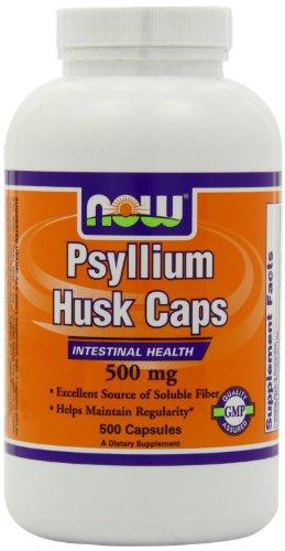 Psyllium Husk 500mg, 500 Capsules Test