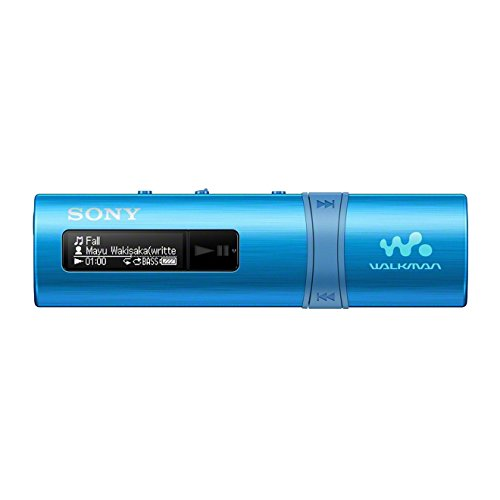 Sony NWZ-B183L Walkman (4GB Speicher, USB) blau (Sony Dvds Player Tragbar)