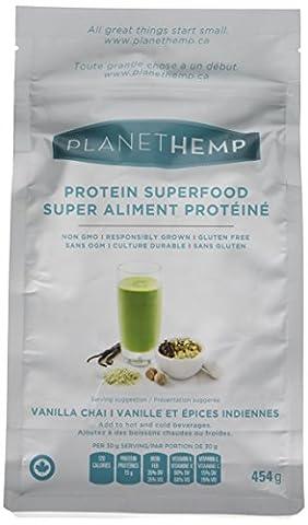 Planet Hemp Vanilla Chai Superfood Powder