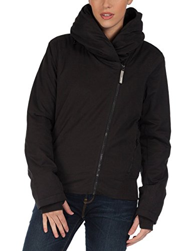 Bench Damen Jacke Bomberjacke Angular Jet Black