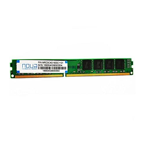 Noua mrd3C4g1600C1101gesamtes RAM Speicher, 4GB, 1600MHz, DDR3, CL11DIMM, 240pin, 4GB 1600MHz