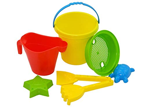 Best Sporting Eimer-Set, klein, Verschiedene Farbausführungen, Farbe: gelb -