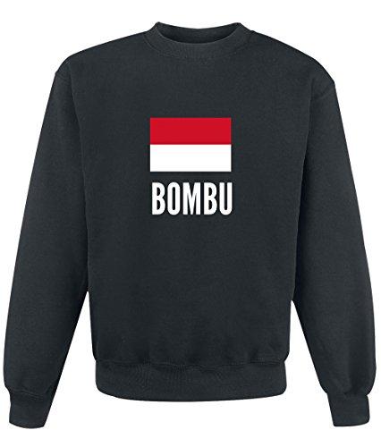 Felpa Bombu city Black