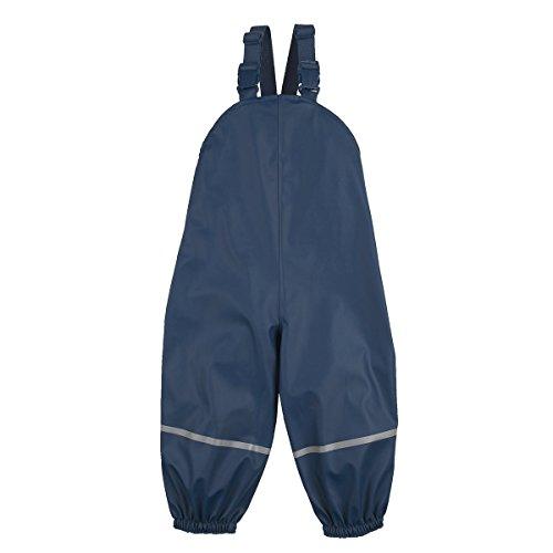 Bornino Bornino Regenhose/Basics Babybekleidung/Latzhose/Matschhose mit Reflektorstreifen/Winddicht