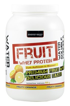 Energybody Fruit Whey Protein 908g Dose
