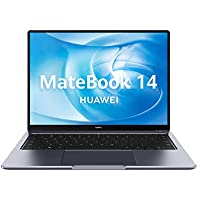 Huawei Matebook 14 - Ordenador Portátil Ultrafino de 14'' 2K (Intel core i7-10510U, 16GB RAM, 512GB SSD, GeForce MX350-2GB, Windows 10 Home) Gris - Teclado Qwerty Español