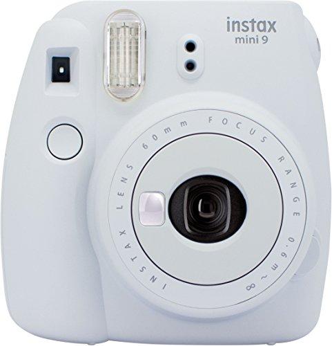 Fujifilm Instax Mini 9 Kamera smoky weiß mit Tasche