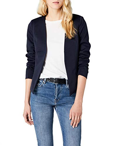 ONLY Damen Anzugjacke onlANNA Short Blazer NOOS TLR, Blau Night Sky, 40