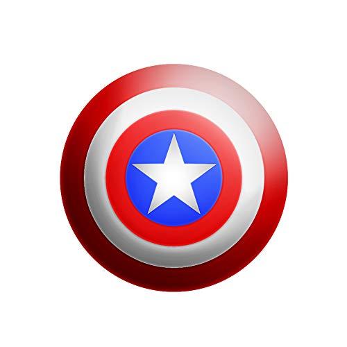 NANLAI Captain America Schild für Cosplay Kostümzubehör für Erwachsene,57 cm Durchmesser