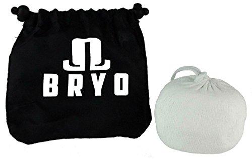 Bryo Nachfüllbare 3 Oz Chalk Ball Socke - Magnesiumcarbonat - Mit Nicht-Mess-Aufbewahrungstasche Für Trockene Hände Und Erhöhung Der Grip Für Alle Übungen Und Leichtathletik - Gewichtheben