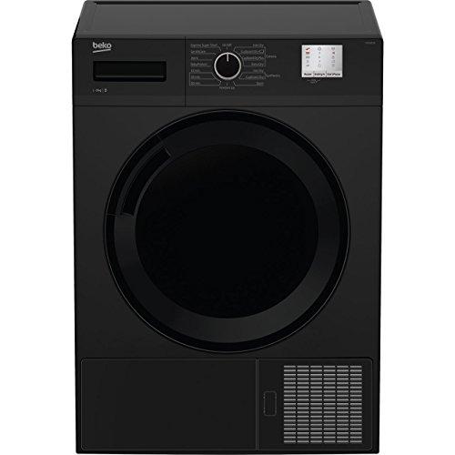 Beko DTGC8011B Freestanding B Rated Condenser Tumble Dryer in Black