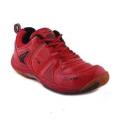 PROASE Red Badminton Shoes - 10 UK