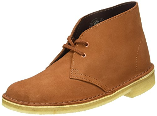 Clarks Originals Boot, Stivali Desert Boots Donna Marrone (Dark Tan Suede)