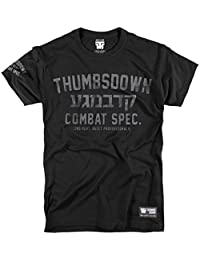 Thumbs Down Krav Maga T-shirt. Combat Spec. Quiet Professionals. MMA. Gym. Training. Sportswear. Martial Arts. Casual