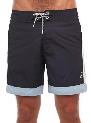 Herren Badehosen OROBLU boardshorts bademode Kleidung S M L XL (M, schwarz) (Boardshort-schwarz-kleidung)