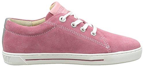 Birkenstock Arran, Chaussures Lacées Fille Rose (Berry)
