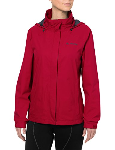 VAUDE Damen Escape Bike Light Jacket Jacke, rot (indian red), 38
