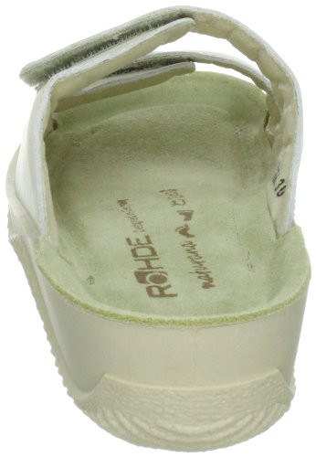 Rohde Softana-40 1940, Sandales femme Blanc (elfenbein 02)