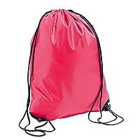 SOLS Urban Gymsac Drawstring Bag (One Size) (Neon Coral)