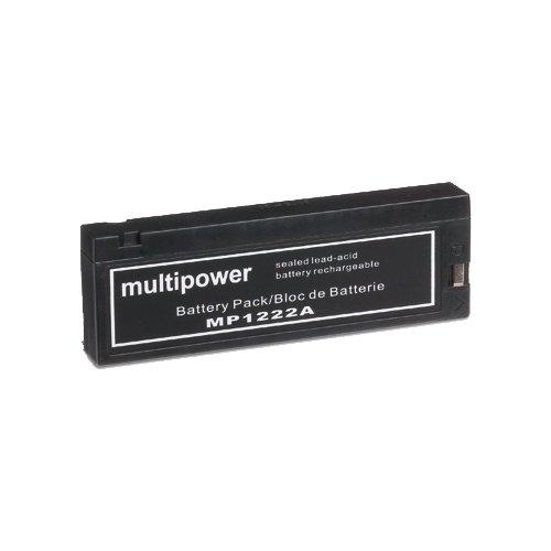 Akku für MOTOROLA INTERNATIONAL 1000, BOSCH CARTEL, AEG AEG TELECAR 902 915 930 Mobiltelefon Mindray MEC 1200 , BAUER, VC 20A, GRUNDIG SVS 180, BA 32-1 - ersetzt MP1222A, LC-S2012A, VW-VB30, VW-VBD7E Long WP1223A Powersonic PS1223V Accu Batterie