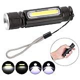Best torce elettriche campeggio - LHKJ Ricaricabile LED Torcia,Mini Torcia da Campeggio USB Review