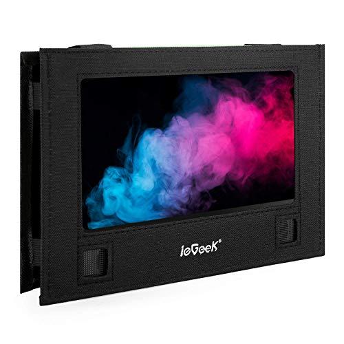 IL supporto per poggiatesta auto ieGeek adatto per Lettore DVD portatile girevole e vibrazione, adatto per lettore dvd ieGeek da 11,5 pollici