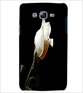 PrintDhaba White Rose D-2002 Back Case Cover for SAMSUNG GALAXY J5 (Multi-Coloured)