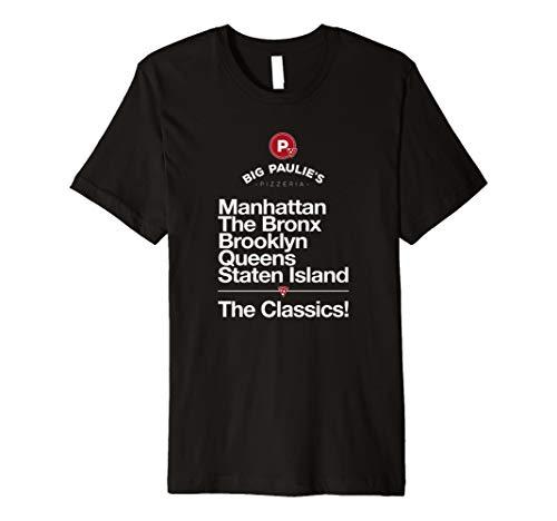 Classics - Manhattan Bronx Brooklyn Queens Staten Island Tee
