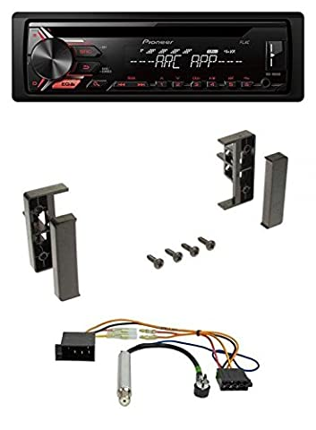 Pioneer DEH-1900UB CD 1DIN AUX MP3 USB Autoradio für Audi A2 A3 8L 99-00 A4 B5 99-01 A6 C5 97-01