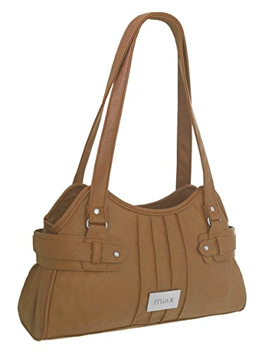 EyeCatchBags - Athens Damen Handtasche aus Kunstleder Light Tan