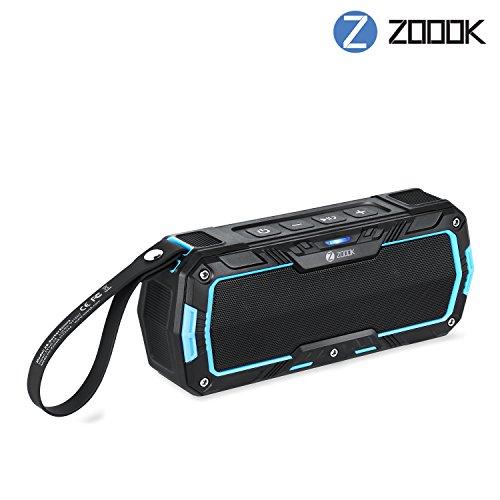 Zoook Rocker Encore Shockproof-Dustproof-Splashproof-Snowproof Rugged Outdoor 12w Bluetooth Speaker