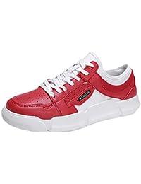 ☺HWTOP Herren Sneakers Sportschuhe Laufschuhe Plateauschuhe Turnschuhe Fashion Männer Schnürschuhe Atmungsaktives Leichte Schuhe Trainer Outdoor Freizeitschuhe Fitnessschuhe Mesh Schuhe